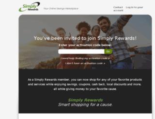 simplyrewards.com screenshot