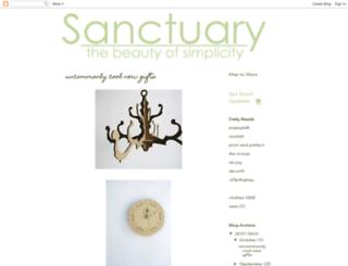 simplysanctuary.blogspot.com screenshot