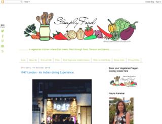 simplysensationalfood.blogspot.com screenshot
