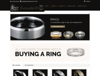 simplysuave.com.au screenshot