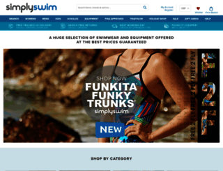 simplyswim.com screenshot
