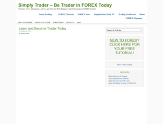 simplytrader.biz screenshot