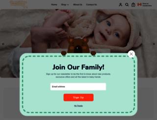 simplyuniquebabygifts.com screenshot