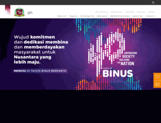 simprug.binus-school.net screenshot
