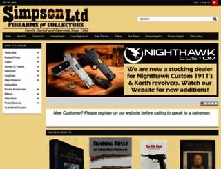 simpsonltd.com screenshot