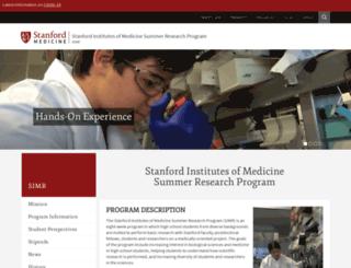 simr.stanford.edu screenshot