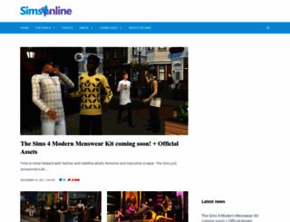 sims-online.com screenshot