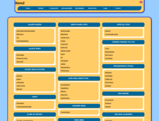 sims2.allepaginas.nl screenshot