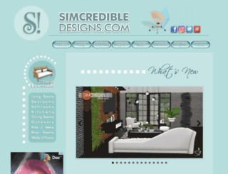 sims4.simcredibledesigns.com screenshot