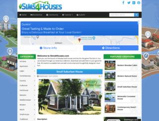sims4houses.com screenshot