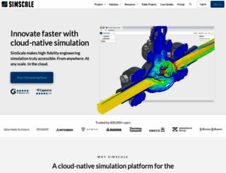 simscale.com screenshot