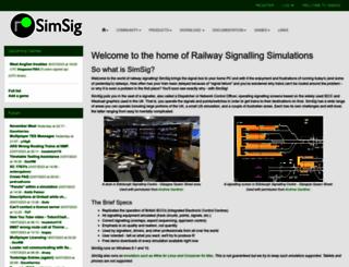 simsig.co.uk screenshot