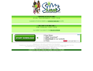 simsland.com screenshot