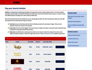 simslotsgames.com screenshot