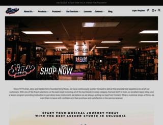 simsmusic.com screenshot