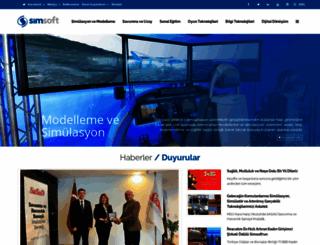 simsoft.com.tr screenshot