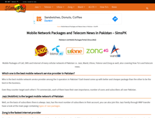 simspk.com screenshot