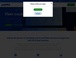 simtrac.com.au screenshot