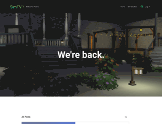 simtv.co.uk screenshot