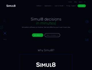 simul8.com screenshot