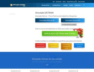 simuladodetranbrasil.com.br screenshot