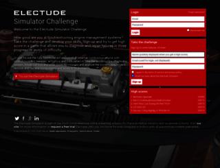 simulator.electude.com screenshot