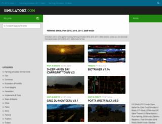 simulatorz.com screenshot