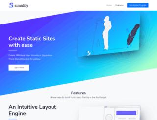 simulify.com screenshot