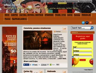 sinaloamx.com screenshot