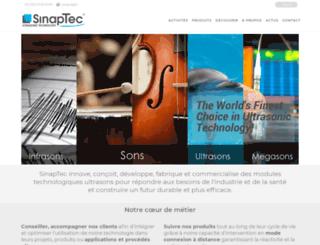 sinaptec.com screenshot