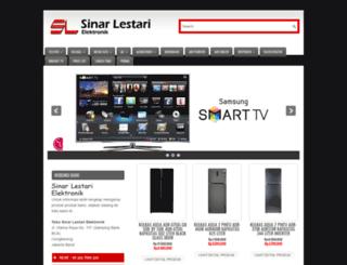sinar-lestari.com screenshot