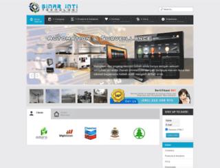 sinarintiteknologi.com screenshot
