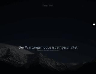 sinaswelt.com screenshot