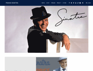 sinatra.com screenshot