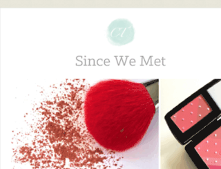 since-we-met.com screenshot