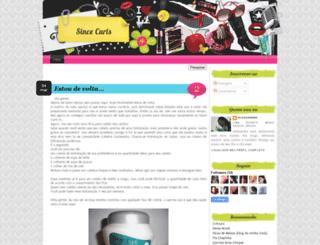 sincecurls.blogspot.com screenshot