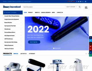 sincery.com screenshot