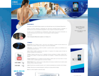 sincirugia.com.mx screenshot