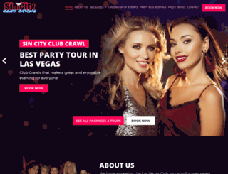 sincityclubcrawl.com screenshot