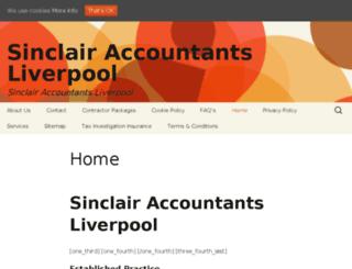 sinclairaccountingco.co.uk screenshot