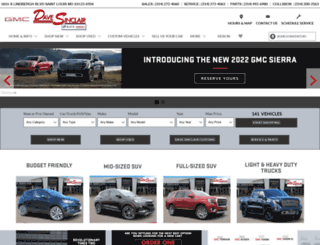 sinclairbuickgmc.com screenshot