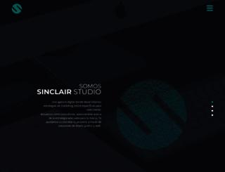 sinclairstudio.es screenshot
