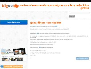 sincodigo2.bligoo.es screenshot