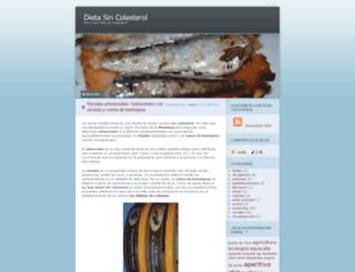 sincolesterol.wordpress.com screenshot