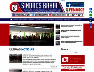 sindacsba.org.br screenshot