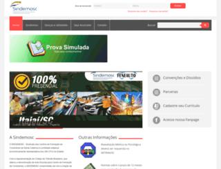 sindemosc.com.br screenshot
