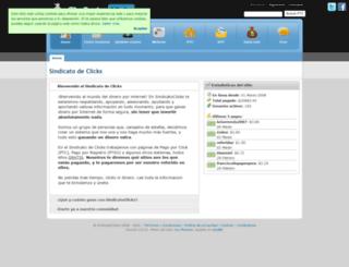 sindicatoclicks.com screenshot