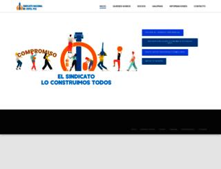 sindicatoentelpcs.cl screenshot