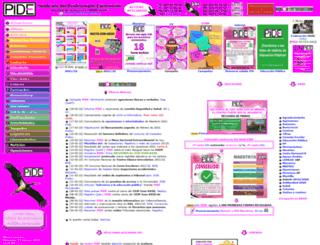sindicatopide.org screenshot