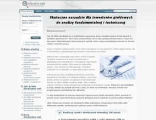 sindicator.net screenshot